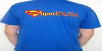 Майка для папы - SUPERMAN.