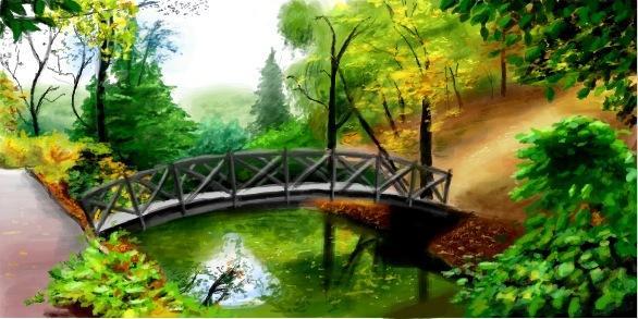 Репродукция картин пейзажей с