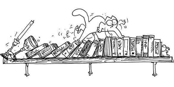 Simon's Cat / Кот Саймона.  PitBull.