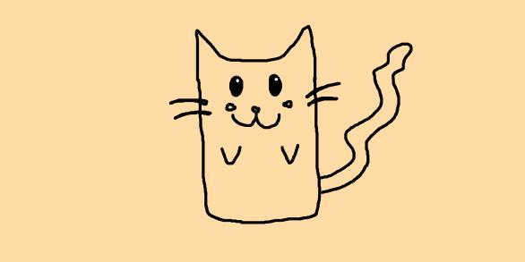 котики рисунки: